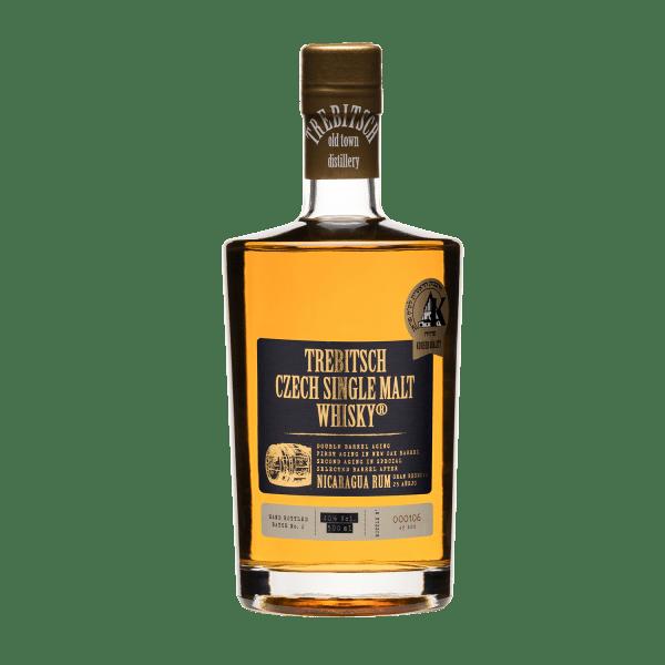 Trebitsch Double Barrel Aging Nicaragua Rum 40% 0.5l