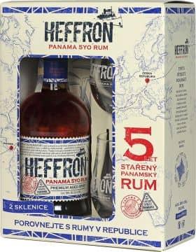 Heffron 38% 0,5l + 2x sklenka