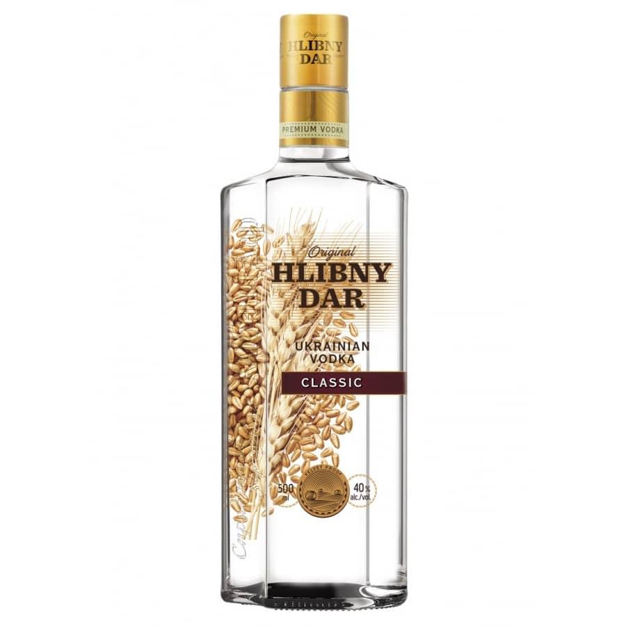 Hlibny Dar Vodka 40% 0,5l