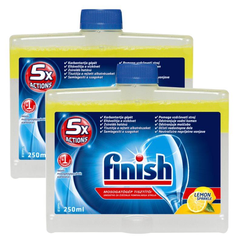Finish čistič do myčky Lemon 2 x 250 ml