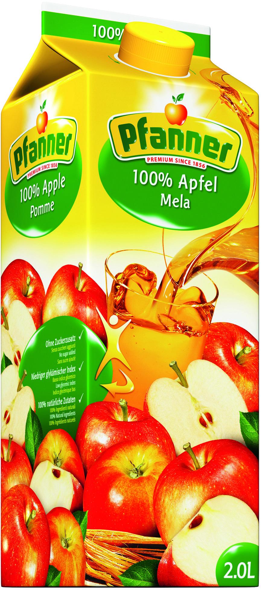 Pfanner 100% jablko 2l + NAD 250 Kč ROZVOZ PRAHA ZDARMA