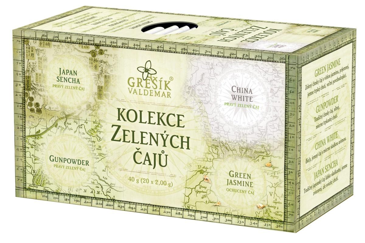 Valdemar Grešík Grešík Kolekce Zelených čajů