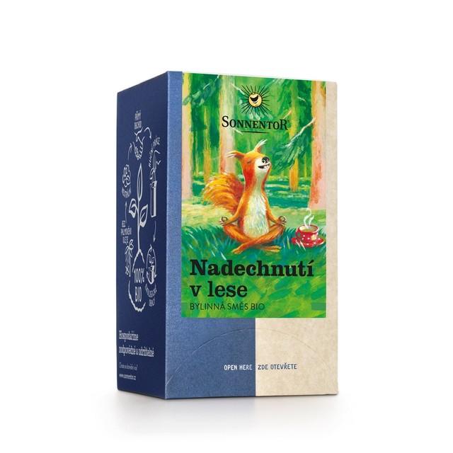 Čaj porcovaný - Nadechnutí v lese 21,6 g BIO SONNENTOR