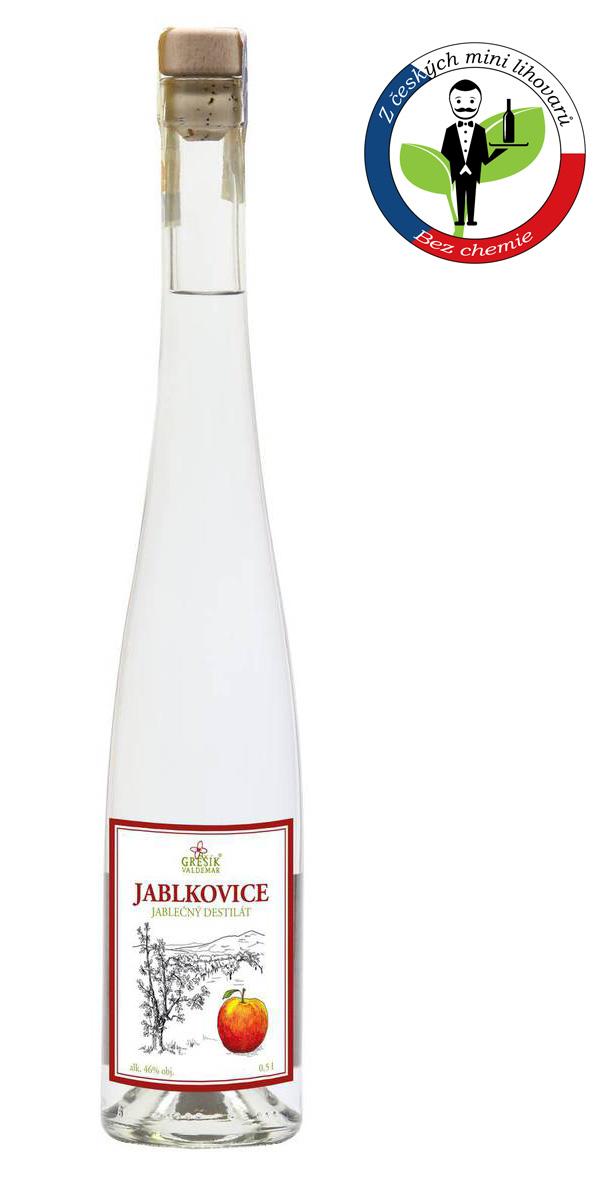 Děčínská Jablkovice 46% 0,5l