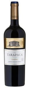 Tarapaca Cabernet Sauvignon/merlot Reserva 2014 + ROZVOZ PRAHA ZDARMA