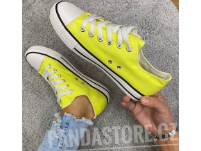 tenisky neon žluté