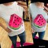 Melounové tričko