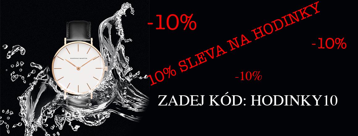 Sleva 10% na hodinky