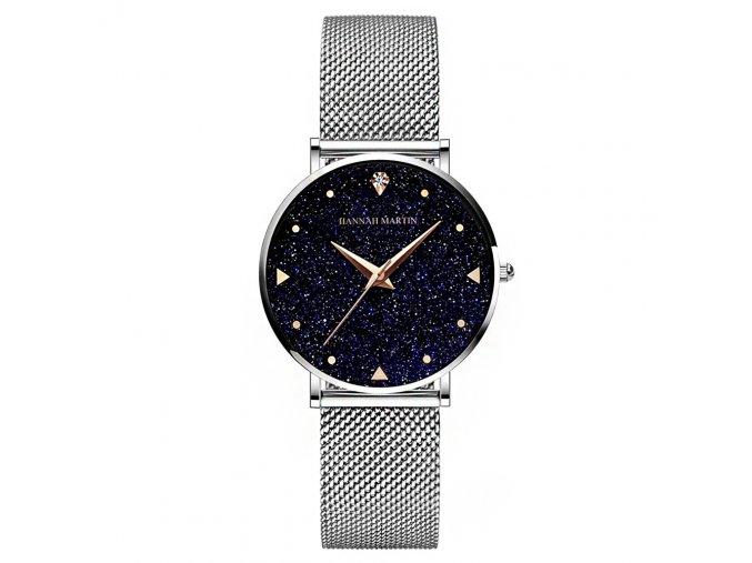 Hannah Martin stříbrné hodinky XK36