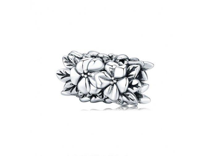 pandjjewellery stribrny privesek květinový vějíř