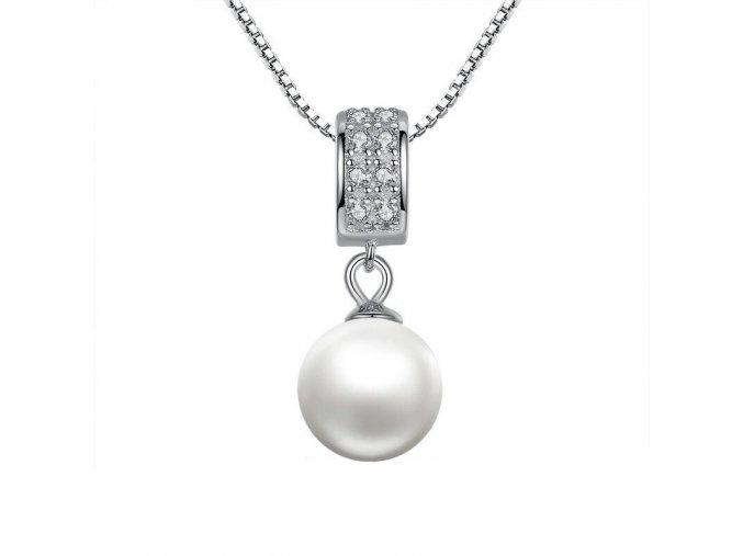 pandjjewellery stribrny nahrdelnik perla krasy
