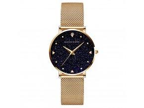 Hannah Martin stříbrné hodinky XK36 zlaté