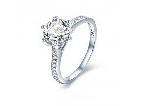 stribrny prsten kralovska zirkonie srp30