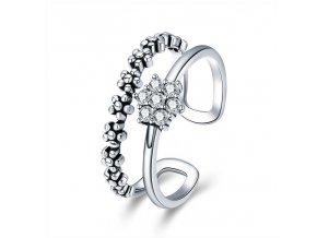 pandjjewellery stribrny prsten oslniva kvetina