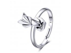 pandjjewellery stribrny prsten liska
