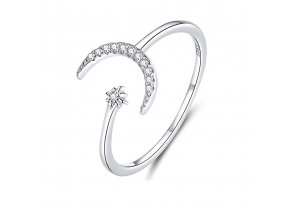 pandjjewellery stribrny prsten mesicni svit