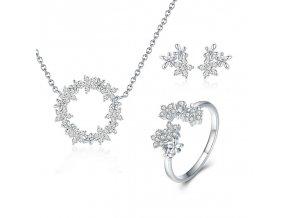 pandjjewellery stribrny prsten kvety2