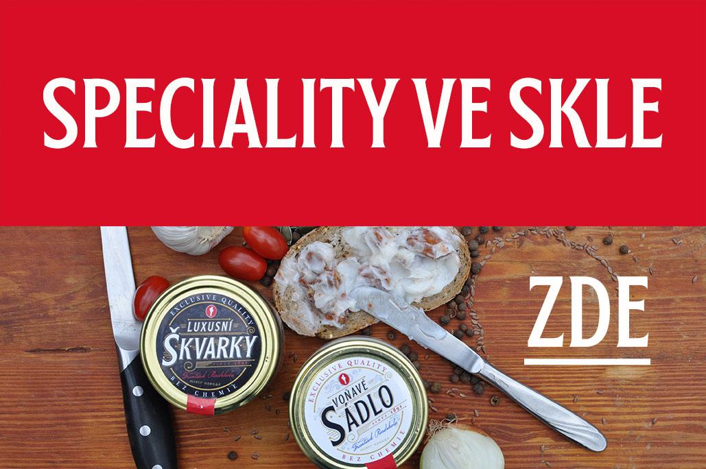 Speciality ve skle