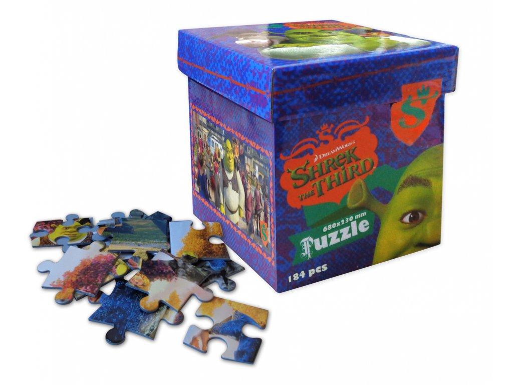 Puzzle 184pcs namesti