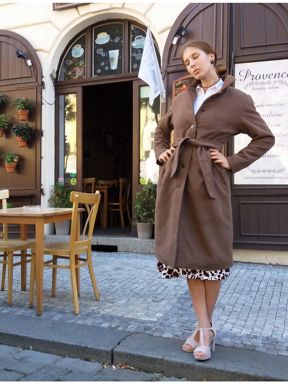 Zimní kabátek retro