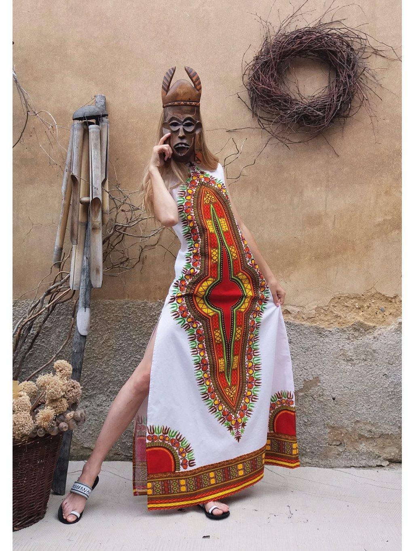 Šaty makenzi dlouhé