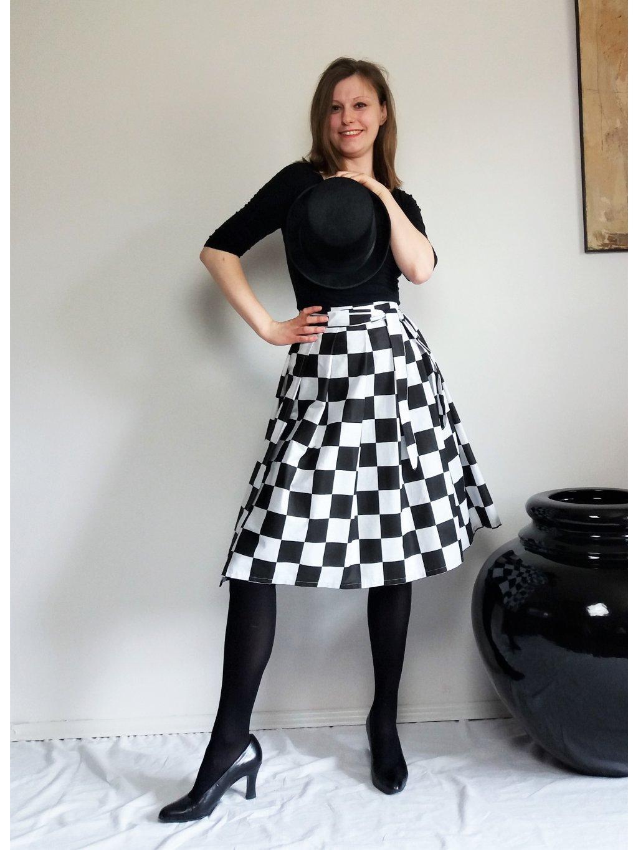Midi zavinovací - šachovnice