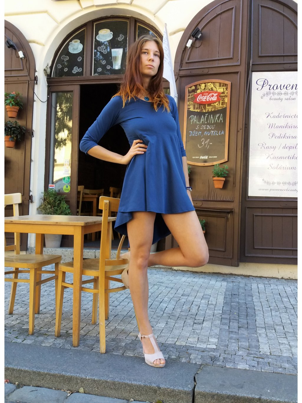 Originální tunika-šaty