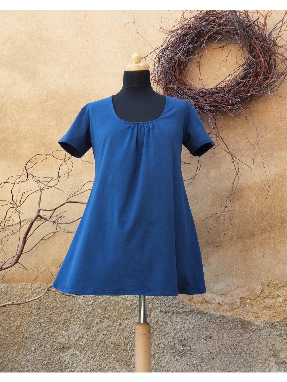 Tunika áčková modrá