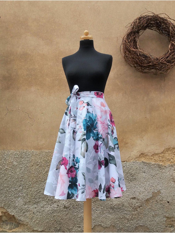 Kolová akvarelové květy
