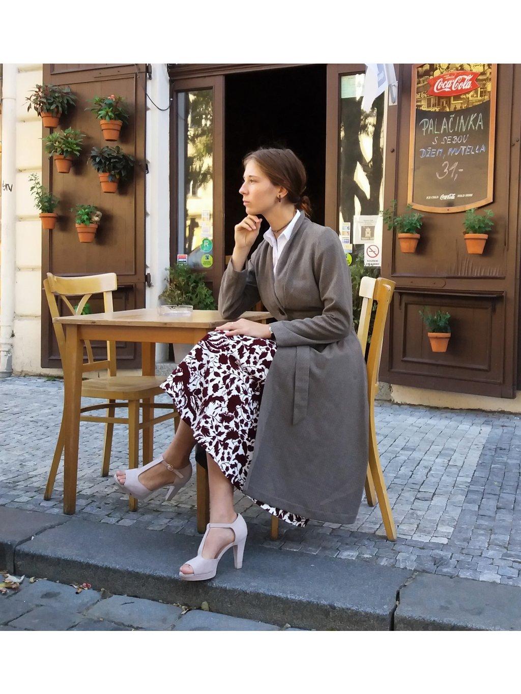 Podzimní-jarní elegantní kabátek