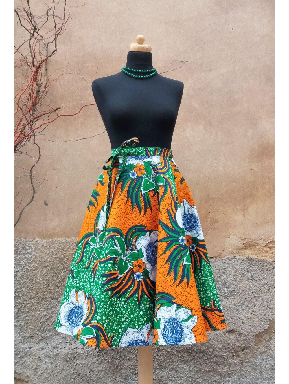 Afrika - Divoké květy - kolová