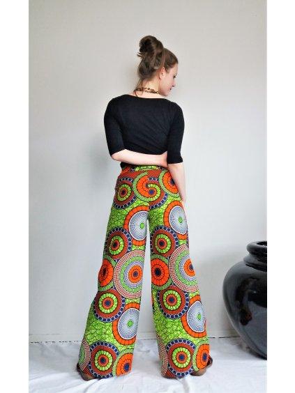 Africké kalhoty neonové