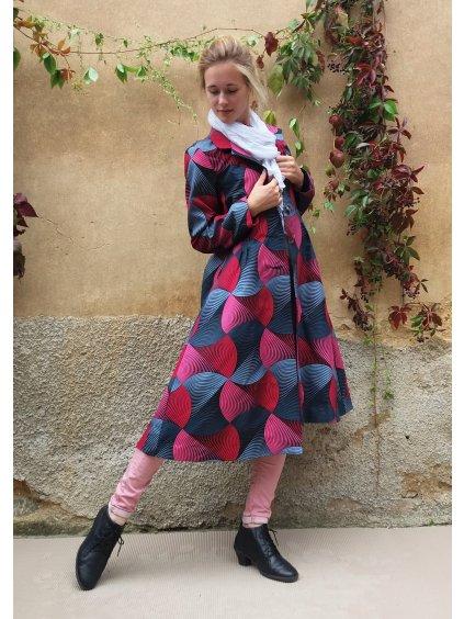 Kabát africký design