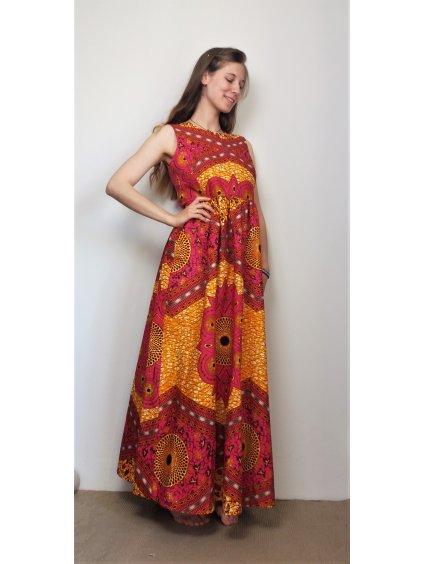 Afrika šaty - ornamenty