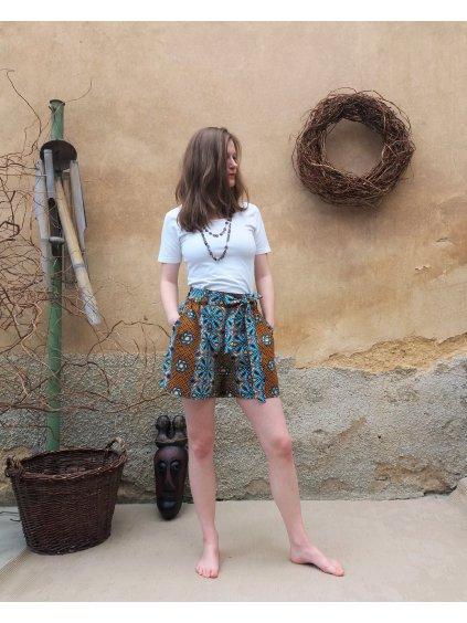 Africké kraťasy - perníčkové vzory