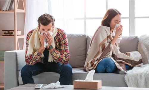 Ako liečiť chrípku a nádchu prírodne