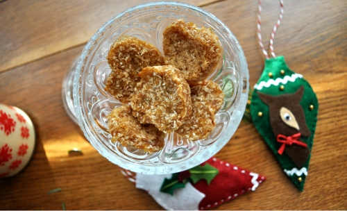 Zdravé vianočné pečenie 2/3 - Pšenové koláčiky s kokosom
