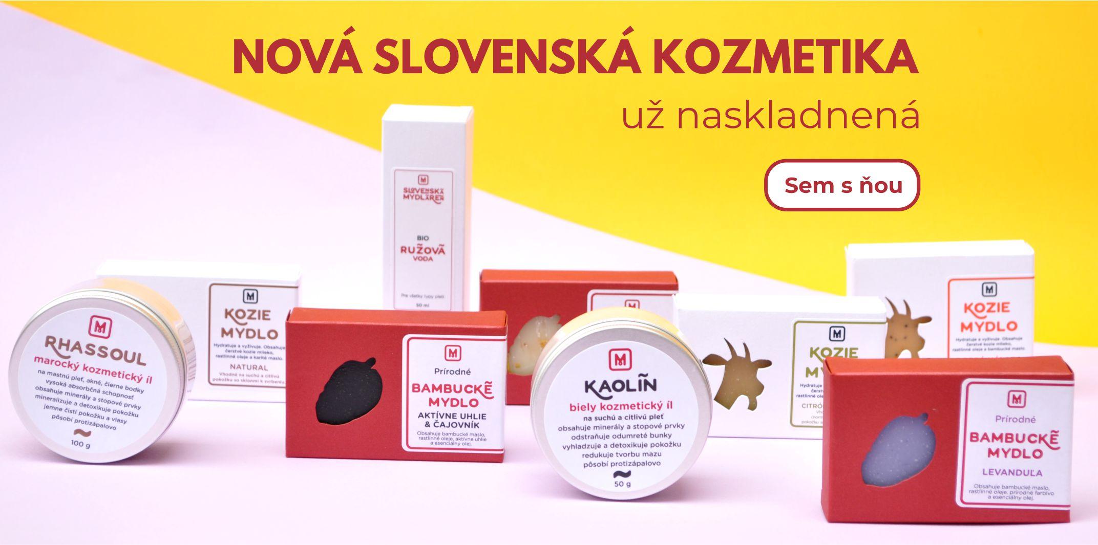 Nová slovenská prírodná kozmetika
