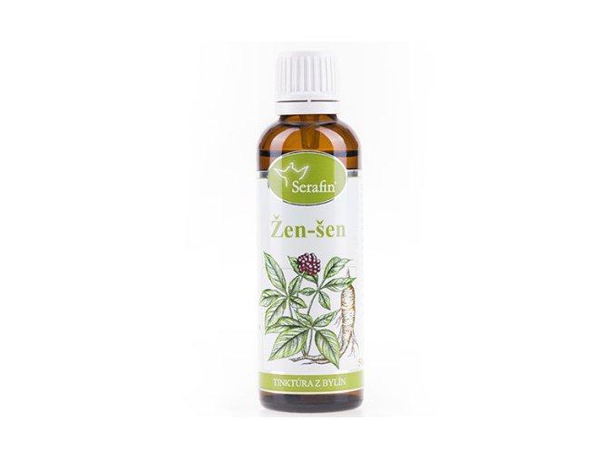 Žen-šeň bylinná tinktúra - 50ml - Serafin