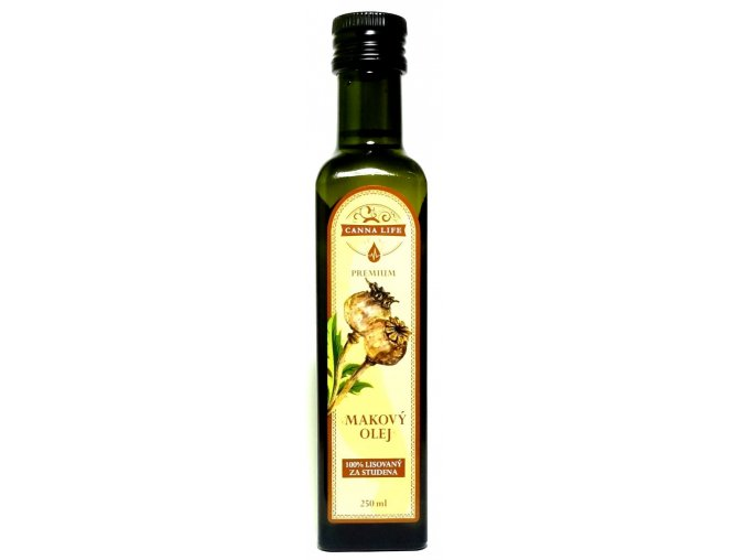 makovy olej 250ml cannalife