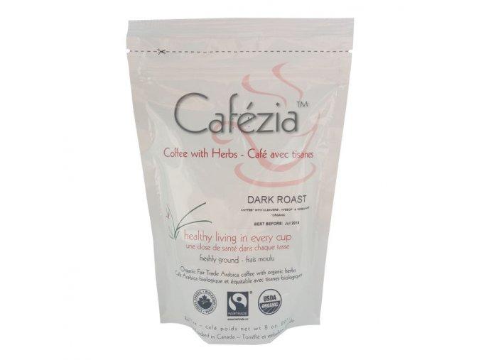 Káva Dark Roast mletá - 227g - Cafezia