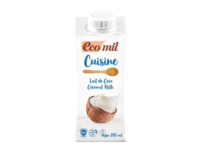 kokosova smotana ecomil 200ml
