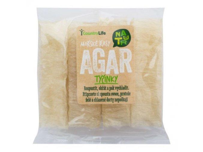 Agar želatína tyčinky - 15g - Country life