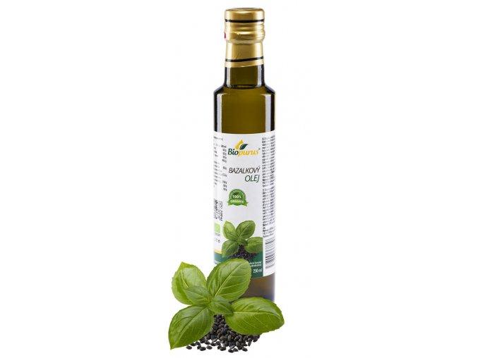 Bazalkový olej 250 ml