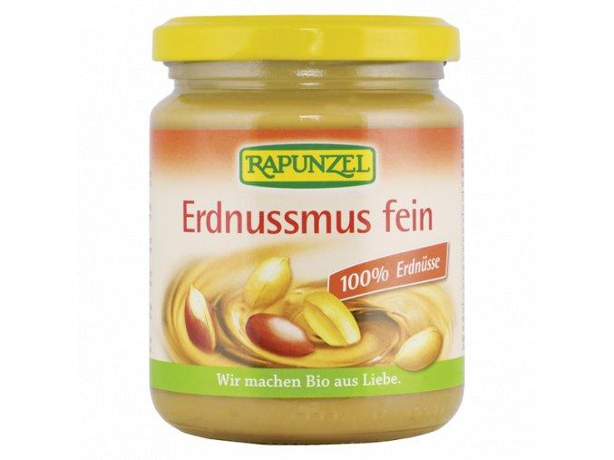 Arašidová pasta jemná 100% BIO - 250g - Rapunzel