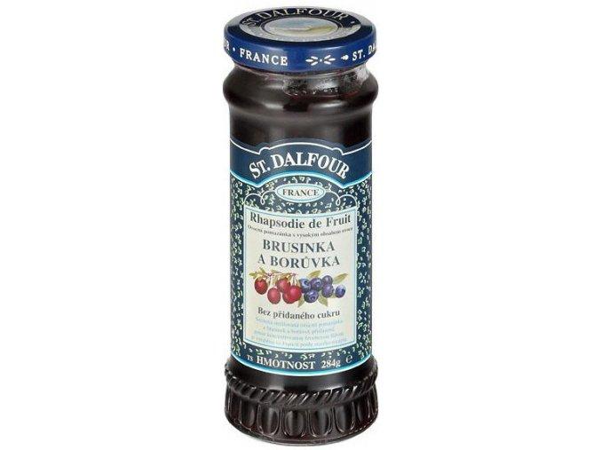 Džem brusnica čučoriedka - 284g - St.Dalfour