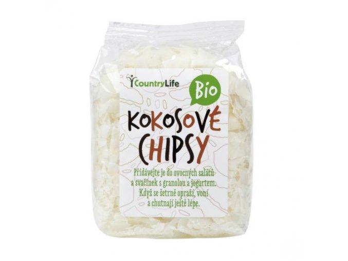 Kokosové chipsy BIO - 150g - Country life