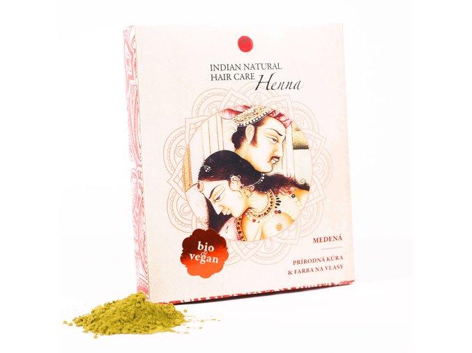 Henna medená - Indian natural hair care