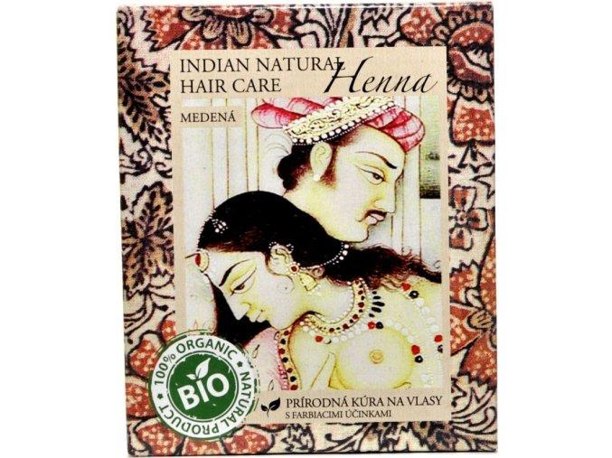 Indian Natural Henna medená - Indian natural hair care