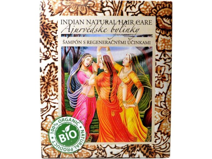 Ajurvédske bylinky šampón - 200g - Indian natural hair care